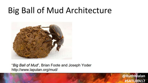 Big ball of mude architecture